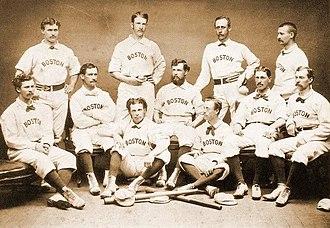1874 Boston Red Stockings season - Team photograph