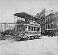 1897 Buenos Aires tranvía (tranway) eléctrico Línea Plaza de Mayo-Belgrano.jpg