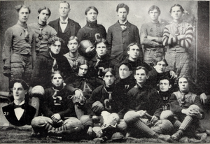 1898 Clemson Tigers football team - Image: 1898 Clemson football team (Chronicle 1899)
