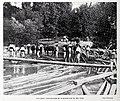 1908-07-11, Blanco y Negro, Aranjuez, Conducción de maderas por el río Tajo, Cifuentes.jpg