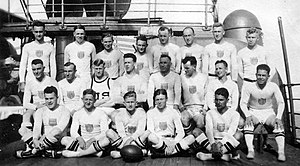 History of rugby union in the United States - The 1920 USA rugby team, gold medal at the 1920 Summer Olympics.