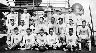 Rugby union at the Summer Olympics - 1920 USA Rugby Team.
