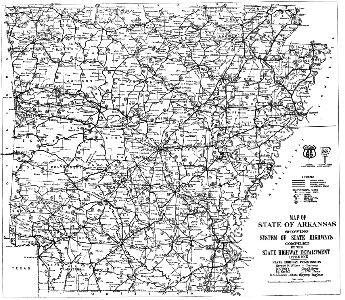 Arkansas State Highway Numbering Wikipedia - Arkansas highway map
