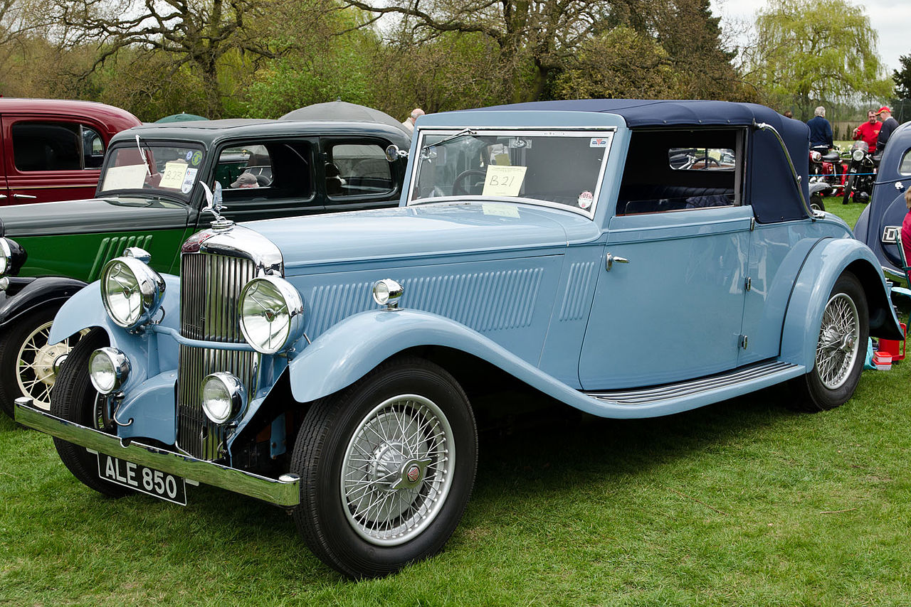 File 1933 Alvis Crested Eagle Dhc Jpg Wikimedia Commons