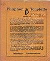 1934-06-09 Deutsche Musik-Premieren-Bühne, Saxonia-Tonplatte, Musikverlag Dresden, Pliaphon (DRGM) Nr. 49, Theodor Krüger (Musiker), (1).jpg