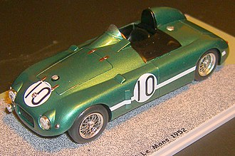 Donald Healey - Scale model of the lightweight Nash-Healey entered in the 1952 Le Mans 24-hour race