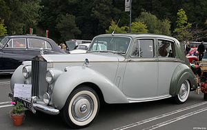 Rolls-Royce Silver Dawn - 1952 car exported to the North American market
