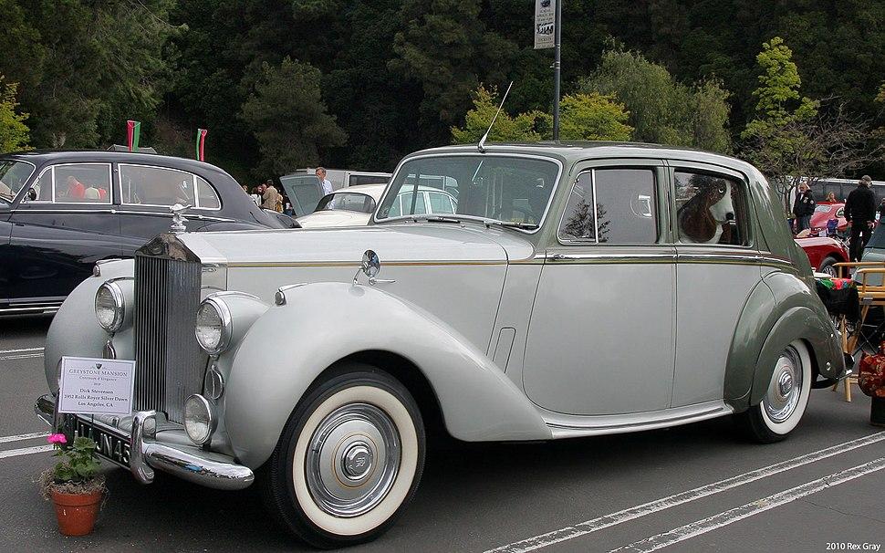 1952 Rolls-Royce Silver Dawn - fvl