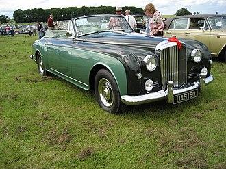 Bentley S1 - Image: 1956 Bentley S1 Continental PW 6069446660