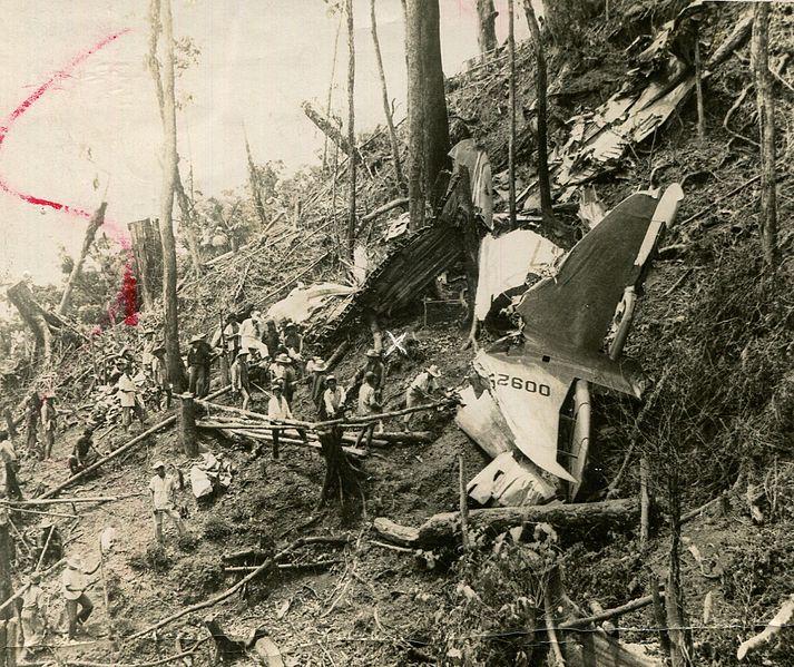 File:1957 Cebu Douglas C-47 crash site.jpg