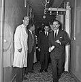1957 Visite du ministre de l'agriculture Mr ANDRE DULIN au CNRZ-22-cliche Jean Joseph Weber.jpg