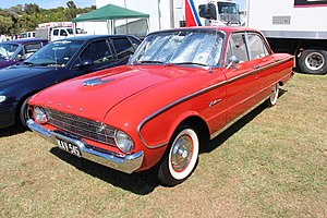 Ford Falcon (Australia) - XK Falcon sedan
