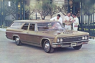Chevrolet Caprice - 1966 Chevrolet Caprice Estate