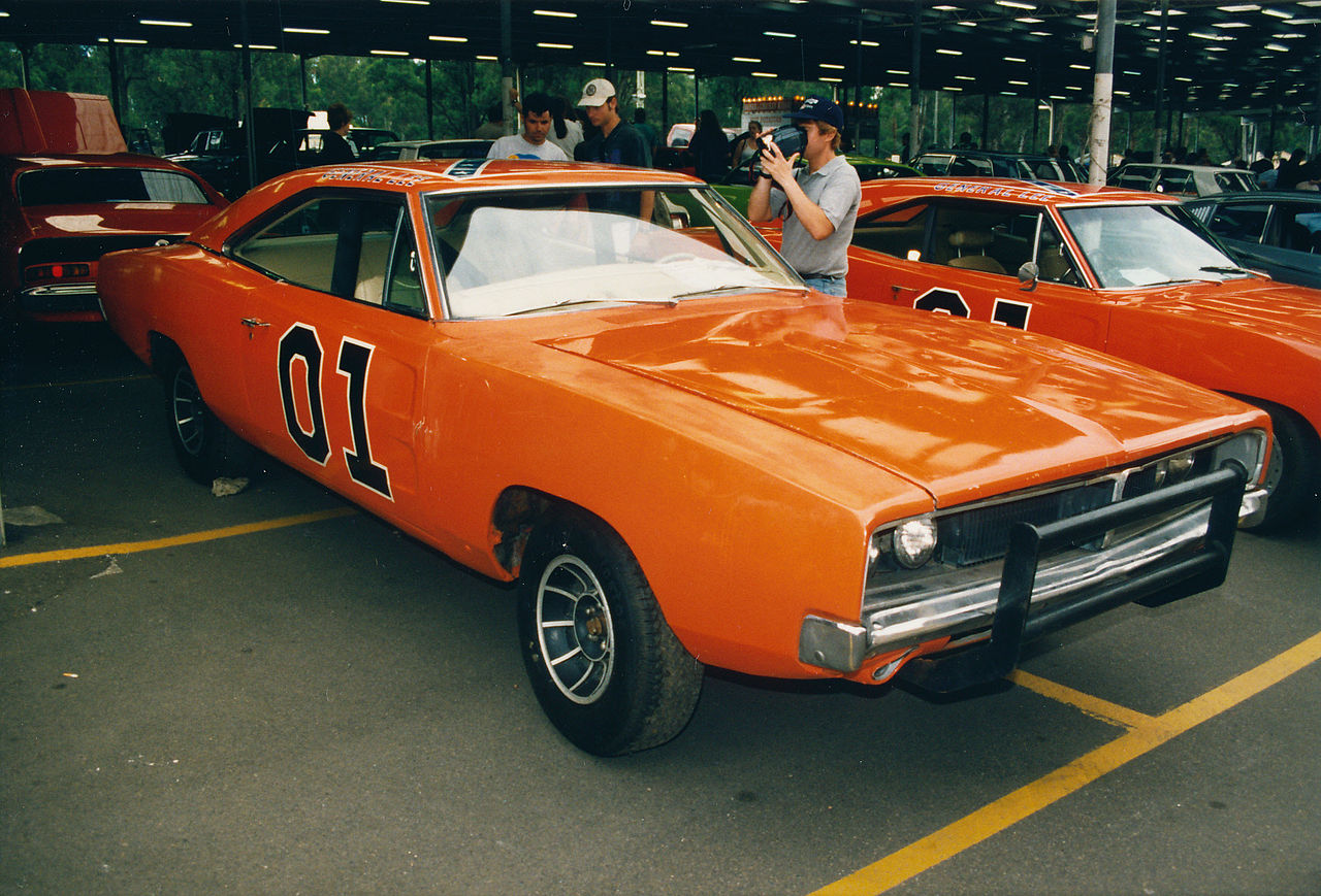 File:1969 Dodge Charger General Lee (16381852718).jpg - Wikimedia Commons