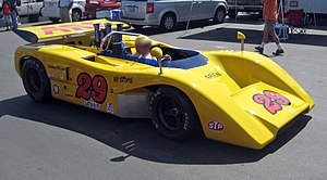 Sports car racing - The McLaren M8E that was driven by Vic Elford in the 1971 Canadian-American Challenge Cup