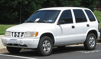 Kia Sportage - c. 1998–2001 MY 1998–2001 Kia Sportage (US)
