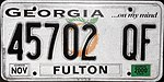 1998 Georgia license plate 45702 QF.jpg