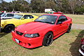 1999 Ford Mustang GT 35th anniversary Coupe (15576357475).jpg