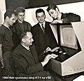 1 - Premiéra vyučovacího stroje KT-1 - 1964.jpg