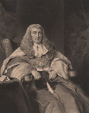 Charles Abbott, 1st Baron Tenterden - Abbott after his ascension to the peerage