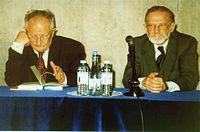 2002.11.18. Bronislaw Geremek and Zygmunt Kubiak Fot M Kubik.jpg