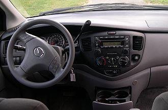 Mazda MPV - Interior