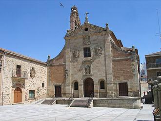 Alba de Tormes - Image: 20060706 Alba de Tormes Iglesia de San Juan de la Cruz