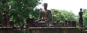 Kamphaeng Phet Historical Park - Ruins inside the Kamphaeng Phet Historical Park