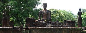 Kamphaeng Phet Province - Ruins inside the Kamphaeng Phet Historical Park