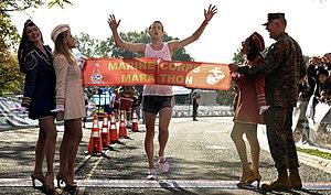 U.S. Marine Corps Marathon 2008 - male winner:...