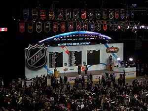 NHL Entry Draft - The stage of the 2008 NHL Entry Draft