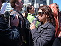 2008 Olympic Torch Relay in SF - media 02.JPG