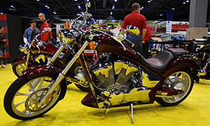 2010 Honda Fury at the 2009 Seattle International Motorcycle Show 5.jpg