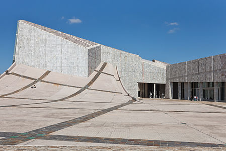 Library and Archive of Galicia (Spain). City of the Culture of Galicia (Peter Eisenman). Santiago de Compostela.