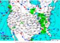 2012-02-16 Surface Weather Map NOAA.png
