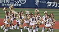 20120501 'diana' cheer team of the Yokohama DeNA BayStars at Yokohama Stadium.JPG