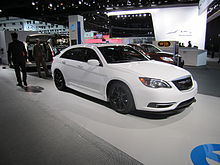 Chrysler 200 Super S At The 2017 North American International Auto Show