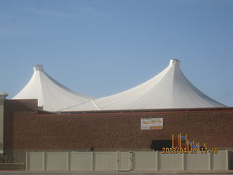Fabric structure - Image: 2013 04 13 eastgate 001