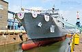 2013. 9. 천왕봉함 진수식 Rep. of Korea Navy ROK Ship Chunwangbong Launching Ceremony (9732841743).jpg