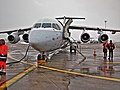 2013 01 21 SN BAe Avro RJ1H OO DWJ dep to EBBR at LFST apron (2).jpg