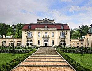 Brzesko - Restored Goetz palace.