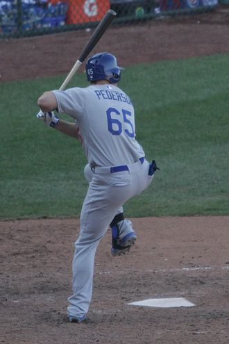 Joc Pederson - Pederson with the Dodgers in 2014