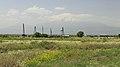 2014 Prowincja Armawir, Zwartnoc, Widok na Ararat.jpg