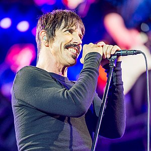 Anthony Kiedis - Kiedis performing at Rock im Park in 2016.