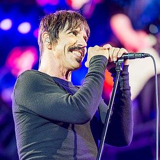 Anthony Kiedis - Kiedis performing at Rock im Park in 2016.