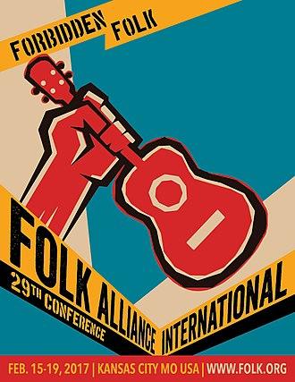 Folk Alliance International - 2017 Conference Artwork