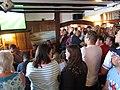 2018-07-07 The Crown Sheringham, FIFA World Cup Match, Sweden v England (1).JPG