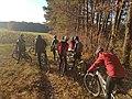 2018-11-17 Mountainbiker im Main-Tauber-Kreis zwischen Tauberbischofsheim, Großrinderfeld und Werbach 03.jpg