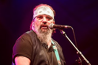 Steve Earle singer-songwriter, recording artist and producer