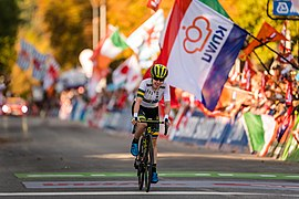 20180929 UCI Road World Championships Innsbruck Women Elite Road Race Amanda Spratt 850 1354.jpg